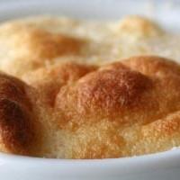 Soufflé di patate e grana