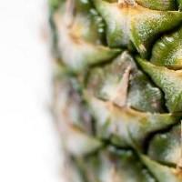Bavarese caramellata con ananas