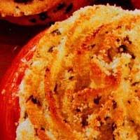 Pomodori ripieni gratinati con purè