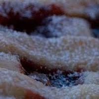 Crostata con confettura di frutta