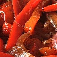 Conserva di peperoni agrodolce