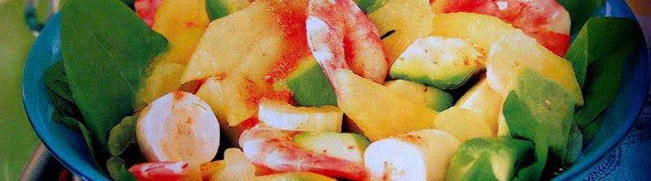 Insalata di frutta tropicale