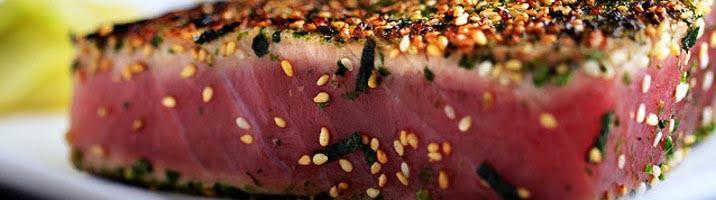 Arrostini di tonno alle bacche