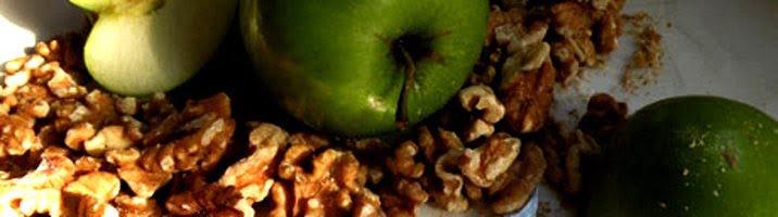 Insalata di mele e noci